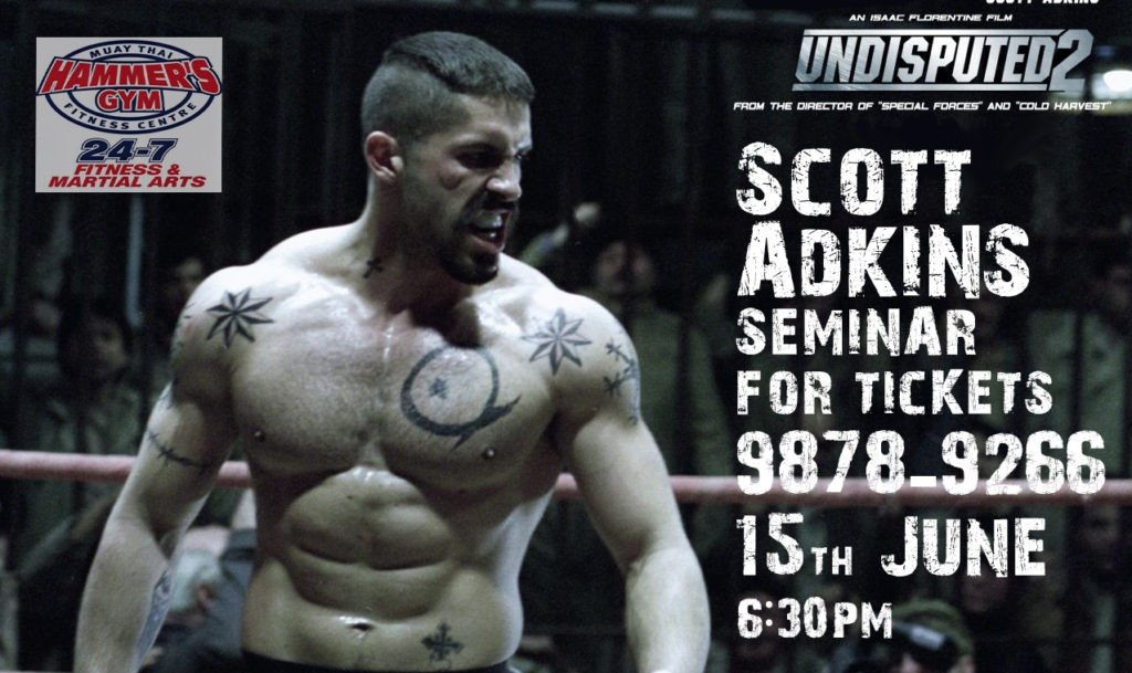 Q&A: Scott Adkins (Boyka: Undisputed, Expendables 2) is coming to Hammer's 5