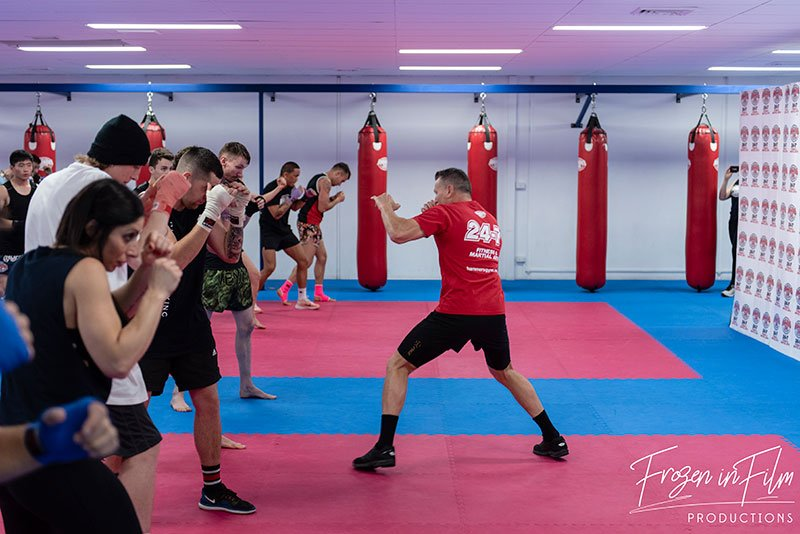 DANNY GREEN COMES TO HAMMERS GYM FOR AN EXCLUSIVE TRAINING SEMINAR 9