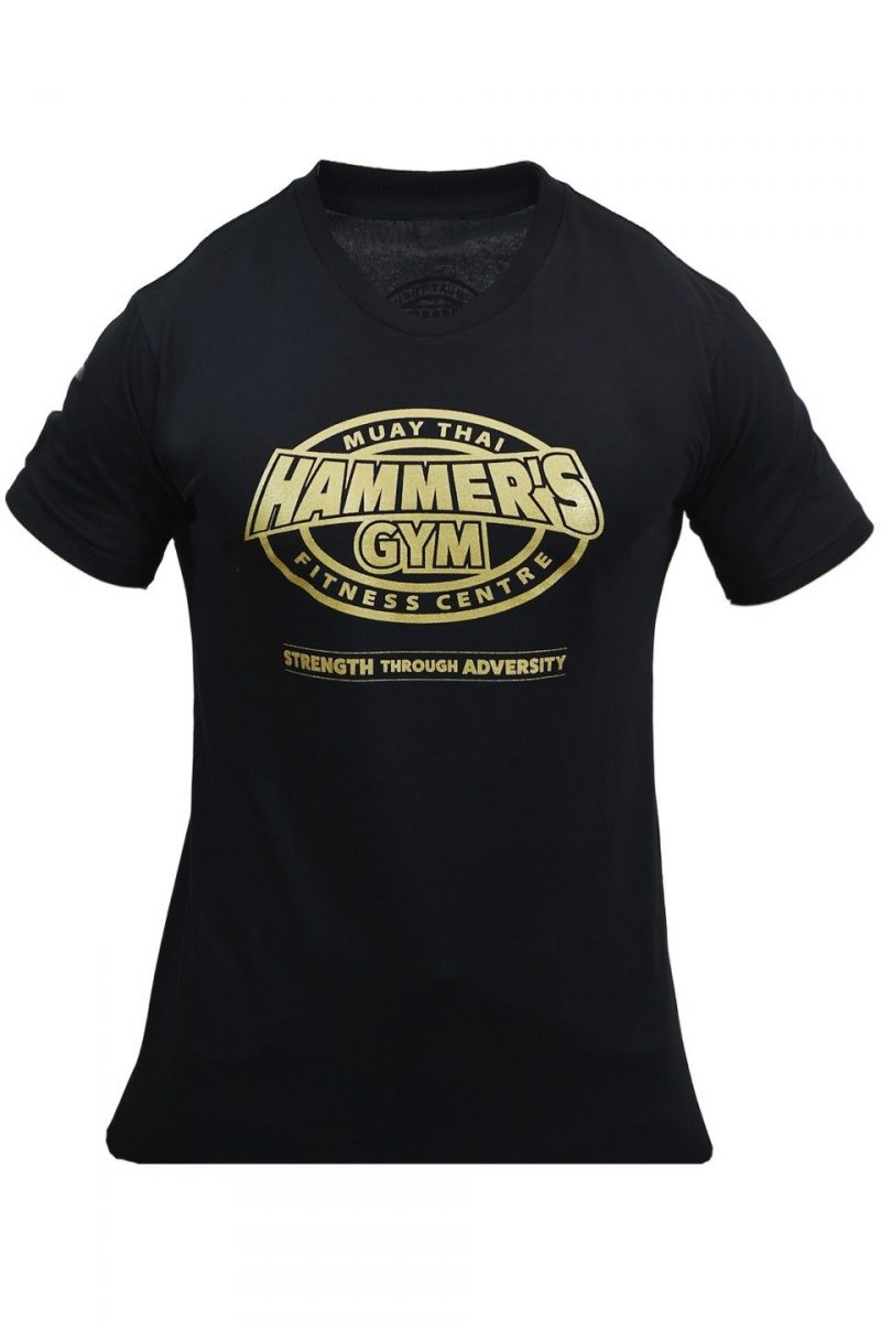 Limited edition 2020 Strength through adversity Black & Gold T's 1