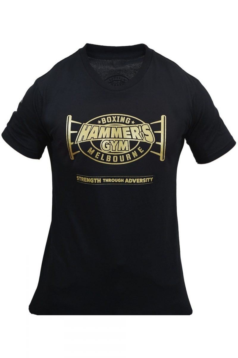 Limited edition 2020 Strength through adversity Black & Gold T's 3